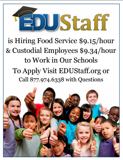 edustaff - hourly flyer