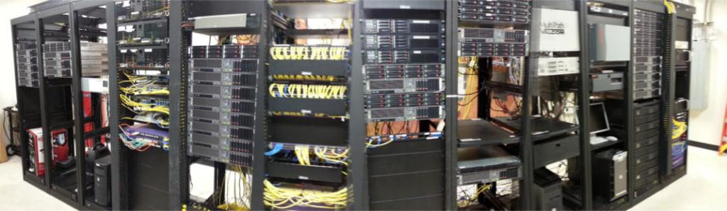 Picture of the Headend Room